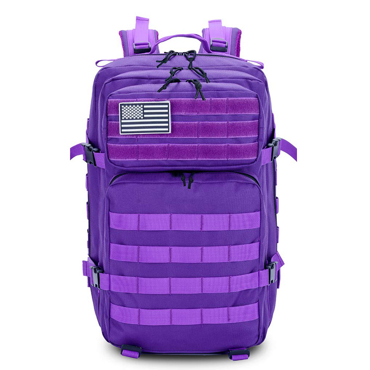 45L Military Tactical Backpacks Molle Army Assault Pack 3 Day Bug Out Bag Featured Image