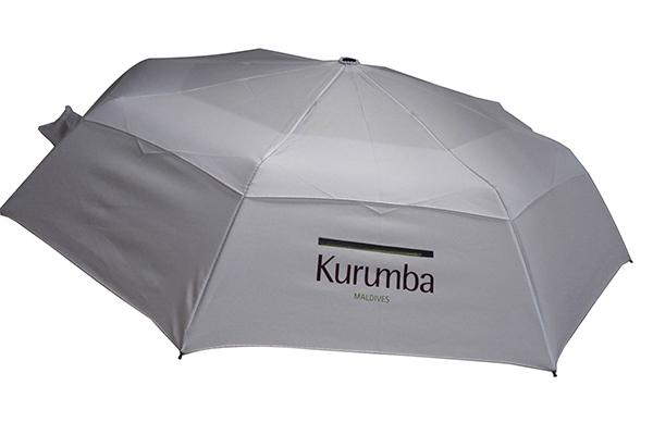 Double layer luxury foldable umbrella