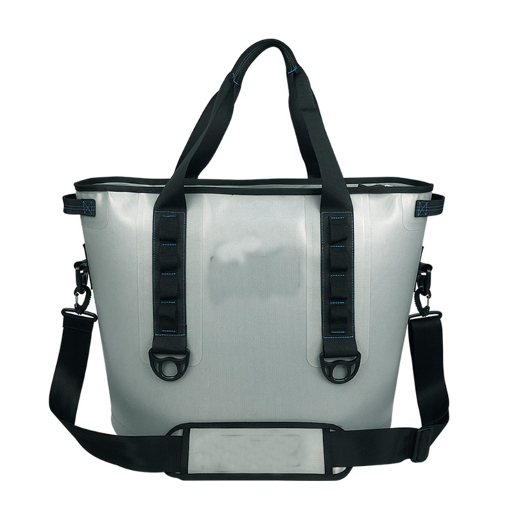 TPU Grey Color 30 Can Soft Side Cooler Bag Featured Image
