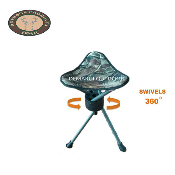 Triangle chair 360° swivels adjustable legs OT001