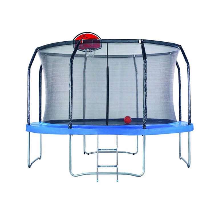 Trampoline With Net Featured Image