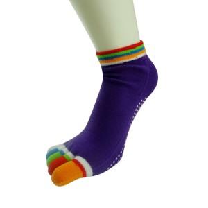 five toe yoga socks