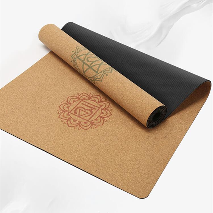 Cork rubber mat -2 yoga mat made from 100% natural materials Featured Image