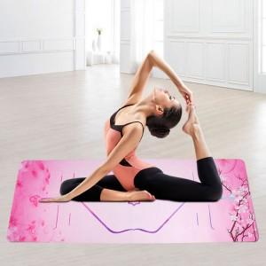 printing suede yoga mat 1
