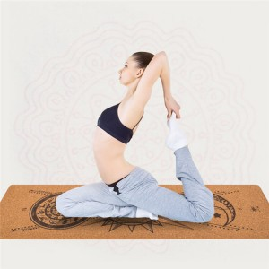 Yoga Cork Mat yoga mat made from 100% natural materials