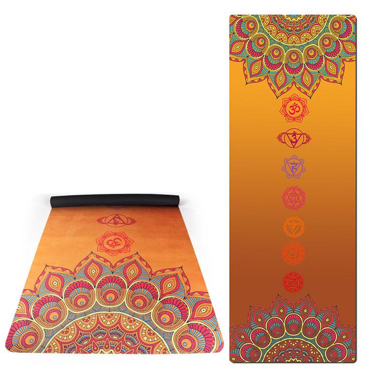 Exercise Mats suede rubber yoga mat 4 Featured Image