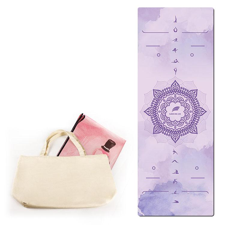 High quality suede rubber yoga mat 4 Featured Image