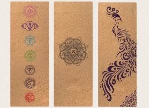 Cork Yoga Mat yoga mat made from 100% natural materials