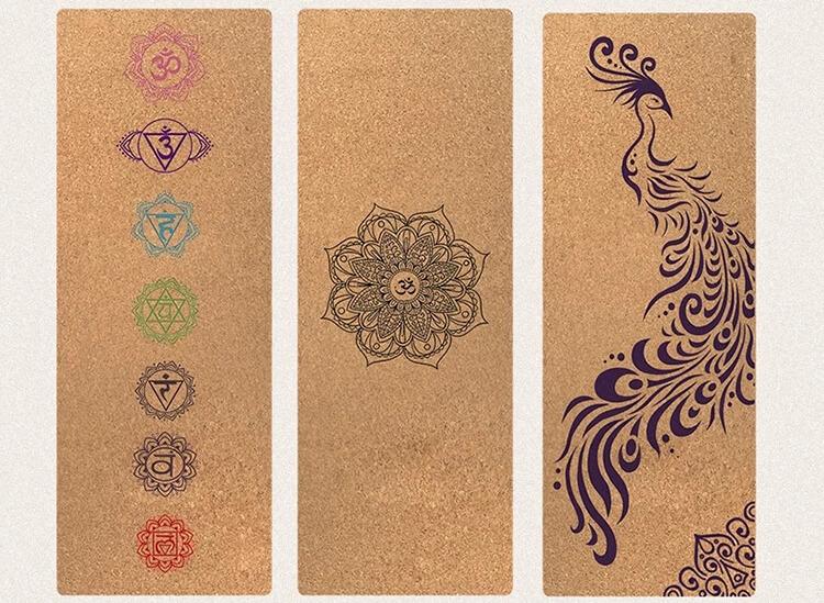 Cork Yoga Mat yoga mat made from 100% natural materials Featured Image