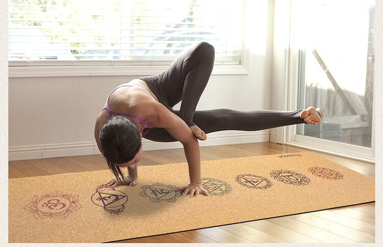 ECO Cork rubber mat  yoga mat made from 100% natural materials Featured Image