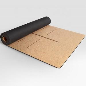 High Quality Cork Yoga Mat yoga mat made from 100% natural materials