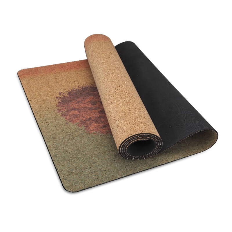 Eco Cork Yoga Mat yoga mat made from 100% natural materials Featured Image