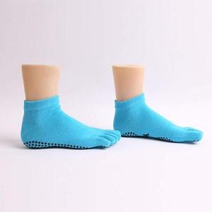 anti slip yoga sock-3