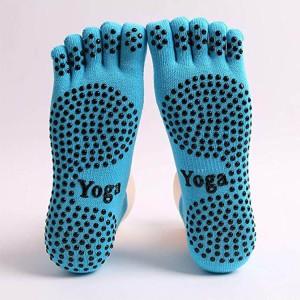 anti slip yoga sock-1