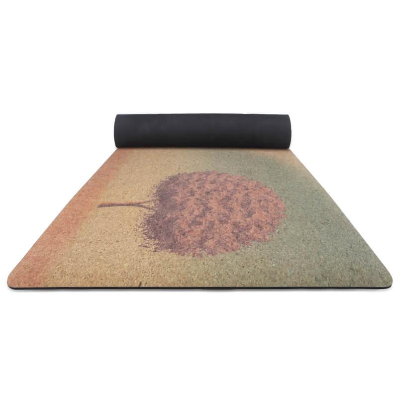 Yoga Mat Cork yoga mat made from 100% natural materials Featured Image